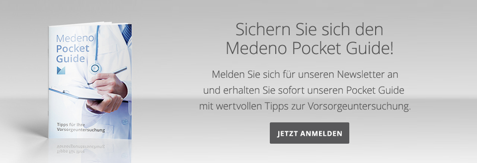Medeno Pocket Guide – Banner – Medeno Medical Check-Up – Bremen